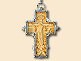 Silver filigree neck cross of Mr. Sinisa Perisic