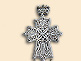Silver filigree pectoral cross of Bishop Basileus (Kacavenda)