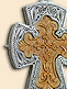 Silver filigree pectoral cross